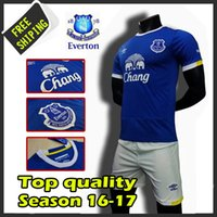 Wholesale New Everton Football Club soccer jerseys survetement football Everton maillot de foot shirts kits