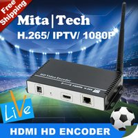 Wholesale Newest HD audio video encoding device MPEG AVC H H HDMI Encoder Replace HD Video Capture Card