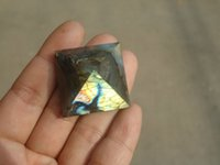 beautiful happy - Beautiful Natural labradorite QUARTZ CRYSTAL pyramid Moonstone Pyramid HEALING mm mm