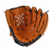 Wholesale New Dark Brown Durable Men Softball Baseball Glove Sports Player Preferred player mp3 player fm