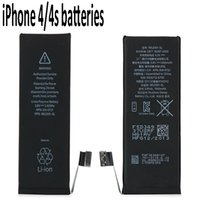 apple phones online - TOP quality Phone s Batteries replacement V Cell Phone Battery foriphone s Portable Smartphone Batteries online