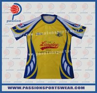 Wholesale China Factory Sublimation Bright Color Italy Ink Custom Rugby Jerseys With Team Logos Persion Design