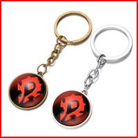 banner film - Horde banner keychain Time Gem Keychain European and American animation film jewelry Retro fashion keychain