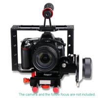 Wholesale Andoer Aluminium Alloy Camera Video Cage Kit with Top Handle Grip for Nikon Pentax Canon Olympus DSLR SLR