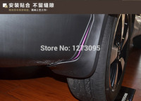 auto mud guards - Car Mudguards for Nissan Qashqai Mud Flap Flaps Splash Guards Fender with Logo Auto Styling Accessories set