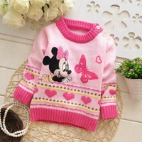 Wholesale autumn and winter boys and girls pullover sweater selling baby years multicolor sweater