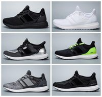 band canvas prints - 2016 New Arrival Sport Sneakers Ultra Boost Uncaged White Black Fashion Running Shoes Top Quality Size