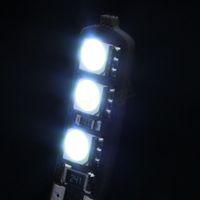 Wholesale 2pcs V Blade W5W T10 SMD LED Canbus No Error Free Car Tail Turn Indicator Bulbs Light Lamp taillights light bulb HA