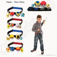 Wholesale Poke Ball Belt Clip n Carry Kids Adjustable Poke Pretend Play Game Xmas Gift OOA641