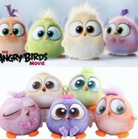 Cheap Angry Birds 2 Plush Toy Stuffed Animal Plush Toy Doll Cute Kids Hold pillow Cartoon Stuffed Animals For Children Kids 18CM KKA216