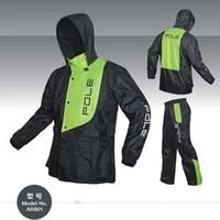 Wholesale Outdoor Rain Wear Wind resistant jacket men waterproof rain coat Raincoats motorcycle jackets Rain Wear pants M XXL