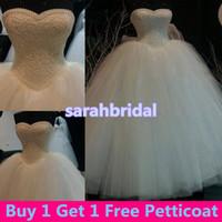 Wholesale Cheap Vintage Victorian Dresses - Vintage Victorian Masquerade Ball Bridal Gowns for Luxury Arabic Saudi Arabia Princess Style Brides Wear Sale Pearls Wedding Dresses Cheap
