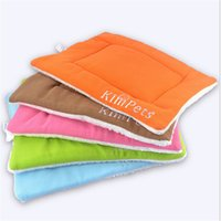 air kennel - 2016 New Arrival Pet Dog Mat Bed Kennel Cat Mat Rectangle Mat Soft cotton Breathable pet bed Mats Candy color pet air conditioning pad