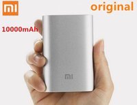 Wholesale New Official Original Xiaomi mAh Power bank External battery for iPhone iPad Samsung All Mobile Phones