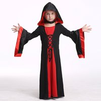 baby girl vampire costume - halloween costume for kids cosplay anime cosplay Anime dance performance clothing Set Baby Wear Carnival Party Vampire Long suit