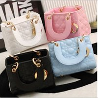 Wholesale Childrens Fashion Korean Style Messenger Bags New Arrival Girls Pretty PU Leather Princess Single Bags Kids Hot Sale Sweet Bags