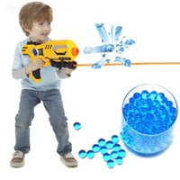 Wholesale 4000pcs Soft Crystal Bullet Water Gun Paintball Bullet Orbeez Gun Toy Nerf Bibulous Air Pisol Toy for Boy Children Kids