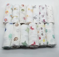 Wholesale Muslin Swaddle Blankets aden anais baby swaddle wrap blanket towelling spring summer baby infant blanket cm KKA636