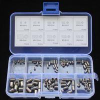 Wholesale Stainless Steel Hex Socket Set Screw Assortment Kit M3 M4 M5 M6 M8