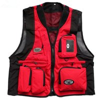 arrival reporters - New Arrival Men s Outdoor Vest Mesh Hunting Shooting Vest with Many Pockets Mutil Function Reporter Photography Vest