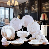 Wholesale Jingdezhen ceramic tableware tableware bone porcelain tableware sets