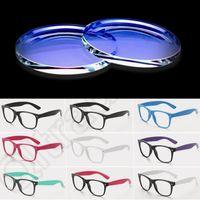 Wholesale LJJJ131 Fashion Computer Reading Glasses Eyewear Resin Lens UV protection Anti radiation Goggle Eyeglasses Colors