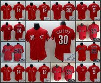 bench boys - A Boston Red Sox Dustin Pedroia Mookie Betts Rose Votto Griffey Bench signature jersey for men