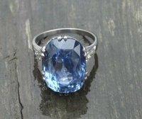 art ring platinum - Antique Diamond Platinum ct Ceylon Sapphire ORIGINAL Art Deco s Ring