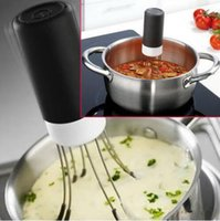 Wholesale Cheap Speeds Cordless Stir Crazy Stick Blender mixer Automatic Hands Free Kitchen Utensil Food Sauce Auto Stirrer Blender