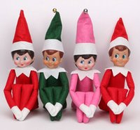 hard cover book - 50 hard cover books and elves of Christmas Plush Elves Xmas doll For Kids Holiday Gift