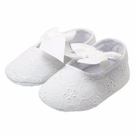 Wholesale 2016 new Spring Soft Sole Girl Baby Shoes Cotton First Walkers Fashion Baby Girl Shoes Butterfly knot First Sole Kids Shoes