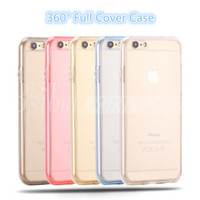 best body protector - 360 Degree Case Colorful Full Cover For iPhone s Samsung S7 edge TPU Front And Back Case Best Body Protector For iPhone
