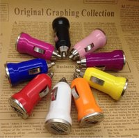 best portable ipad charger - Best Car Charger Colorful Bullet Mini Car Charge Portable Charger For Apple IPhone IPad IPod Samsung Galaxy All phones DHL Free Ship