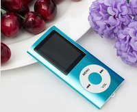 Wholesale High quality battery mp4 player gb Colors for choose Music playing time hours FM radio video player Gift bag