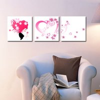 beauty calligraphy - Home decoration unframed Pieces picture Canvas Prints Cartoon flower beauty butterfly tulips rose petal Crane