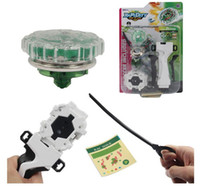 Wholesale New Rare Spinning top fun beyblade metal fusion beyblade toys gyroscope beyblade metal fury for sale set with Gyro launchers handle