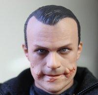action sculpture - Johnny Depp1 bjd sfd male doll Head model Singer Joker Movie Stars Head model Head Sculpture Carving action figures accessories Parts