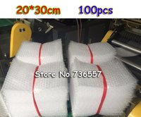 Wholesale x30cm New Bubble Envelopes Wrap Bags anti static Pouches red color PE Mailer Packing bag