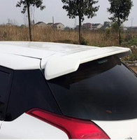 Wholesale High quality ABS material rear wing Spoiler Empennage with color paint for Toyota Yaris