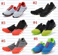 Cheap New Arrival Men's SpringBlade Razor Running Shoes mens Sneakers Brand Sports Boots Trainers Running Athletic Shoes white size us 7-11
