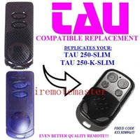 Wholesale Favorite price For TAU SLIM K SLIM compatible remote control replacement garage door opener Fixed code MHZ