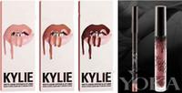 Wholesale Kylie Lip Kit by kylie jenner Velvetine Liquid Matte Lipstick Lip Pencil Lip Gloss Set colors