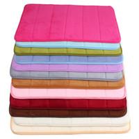 bath mat selling - Top Selling High Quality x60cm Bath Mat Bathroom Bedroom Non slip Mats Memory Foam Rug Shower Carpet for Bathroom Kitchen
