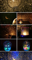 Wholesale novelty led night light romantic gift colorful lights projector star night lamp for children kids baby desk table dector light