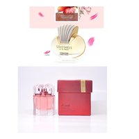 Wholesale 2 Kinds Perfumes Mixed A Each Bottles Spray Form Floral Woman Scent Gift Box Perfume Nice Quality