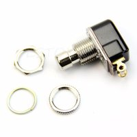 Electrónica de Consumo - SPST Momentary Soft Touch Pulsador Stomp Pie Pedal Electric Guitar Switch