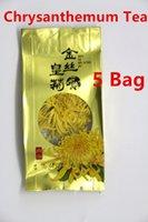 al por mayor crisantemo té chino de la flor-5 Pack chino tradicional auténtico WUYuan té de crisantemo té de hierbas refrescante té de flores aromáticas té floreciente