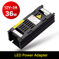 Wholesale 3A V DC W Power Supply LED Driver Adapter Transformer Switch For Led Strip Lighting LED Ribbon With CE ROHS FCC
