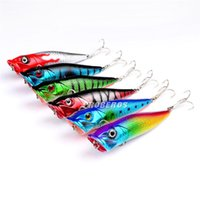 best lure for bass fishing - Best PS Painted Bionic ABS Plastic fishing lure cm g Fly fishing popper poper crank bait for bass fishing