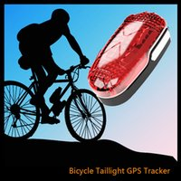 bicycle hid light - TKSTAR TK906 long standby time waterproof led light gsm gps tracker for bike easy hidden sim card bicycle lifetime free platform